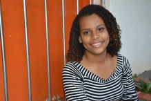 Jamilly, 14 anos. (Foto: UNFPA)